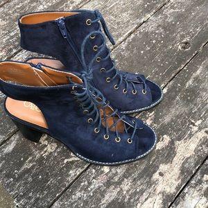 Navy blue heels from Cato